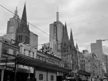 Melbourne: Flinders street