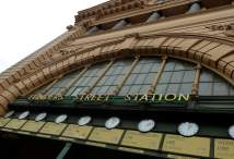 Melbourne: Flinders Station