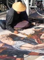 Pavement artist- Sydney