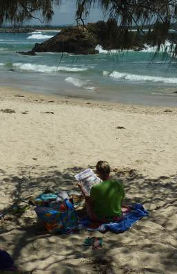 Town Beach- Greek Island side