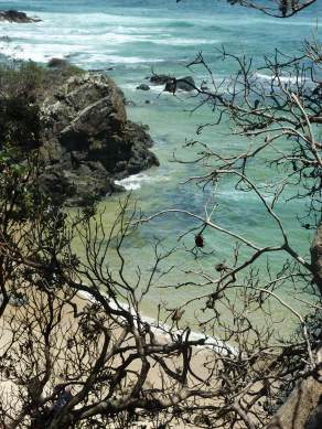 Tiny cove near Town Beach