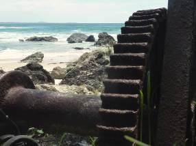 Town Beach -old wheel