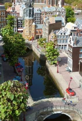Scale- Madurodam in Den Haag, The Netherlands