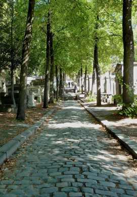 Cemetery- Pere Lachaise, Paris