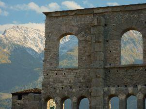 Walls, Aosta, Italy