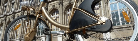 Paris bike ride