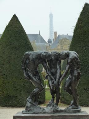 Rodin garden, Paris